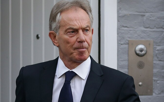 Leiboristist endine peaminister Tony Blair.