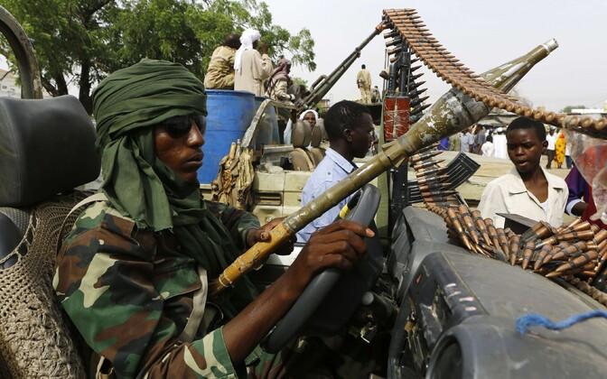 Sudaani sõdur.