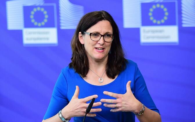 Euroopa Komisjoni kaubandusvolinik Cecilia Malmström.