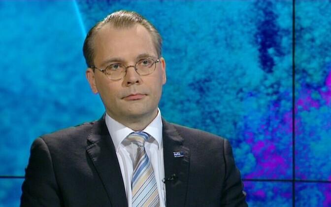 Soome kaitseminister Jussi Niinistö.