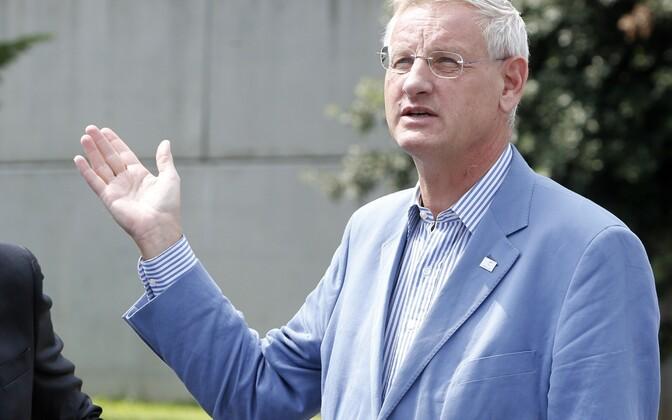 Rootsi endine peaminister (ja endine välisminister) Carl Bildt.