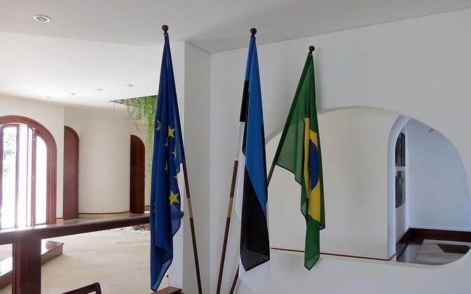 Eesti saatkond Brasiilias avati 2014. aasta suvel.