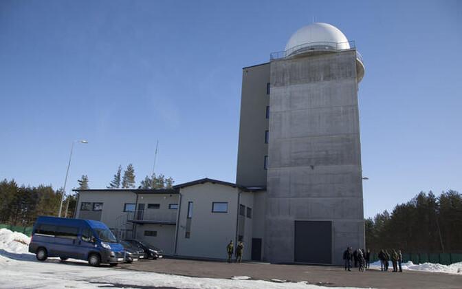 Kaitseväe Muhumaa radaripost.