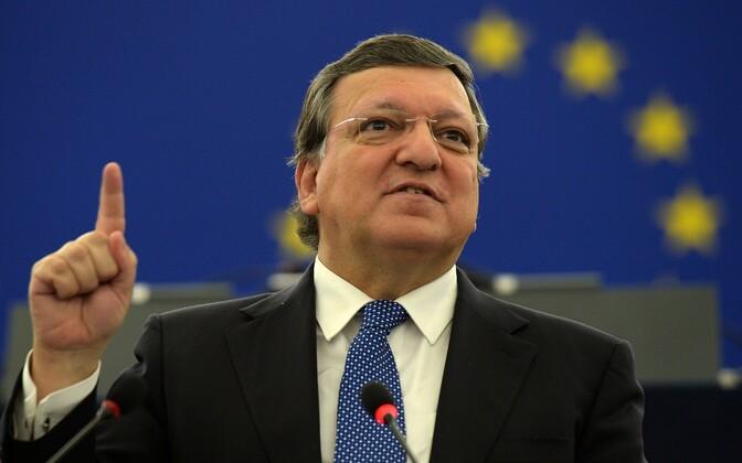 Barroso Euroopa Komisjoni presidendina 2014. aastal.