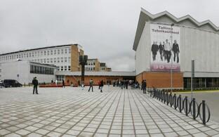Tallinna tehnikaülikooli peahoone.