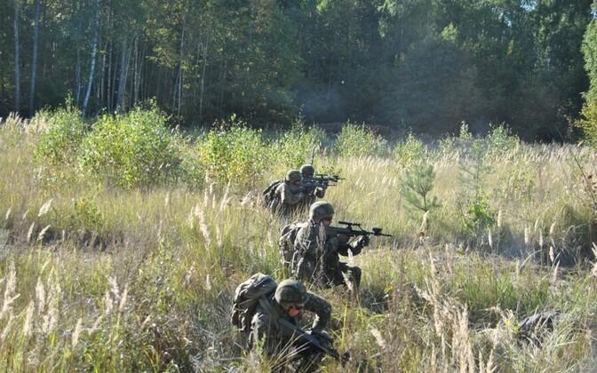 Luksemburgi sõdurid õppusel.