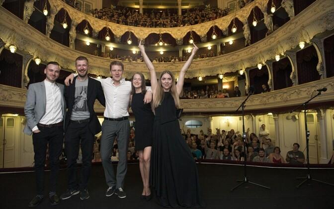 Filmi meeskond festivalil