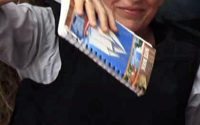 Marie Colvin 2011. aasta lõpus  Liibüas Misratas.
