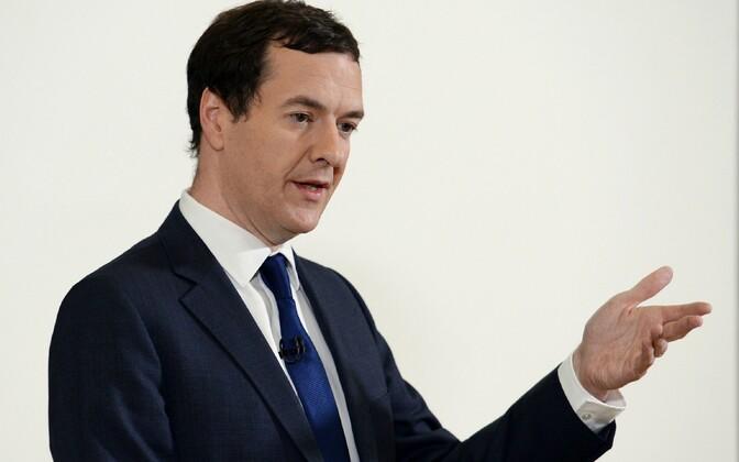 Briti rahandusminister George Osborne.