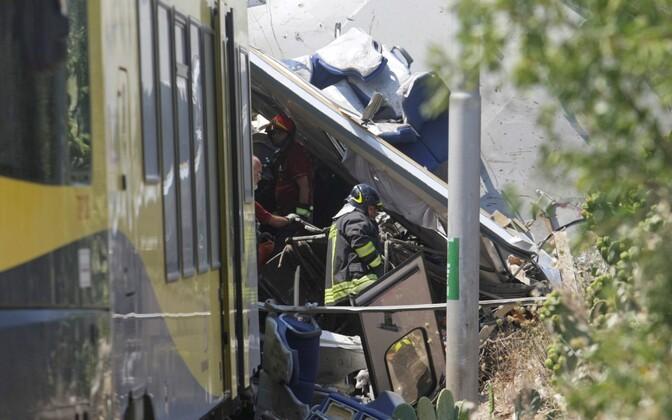 Rongiõnnetus.