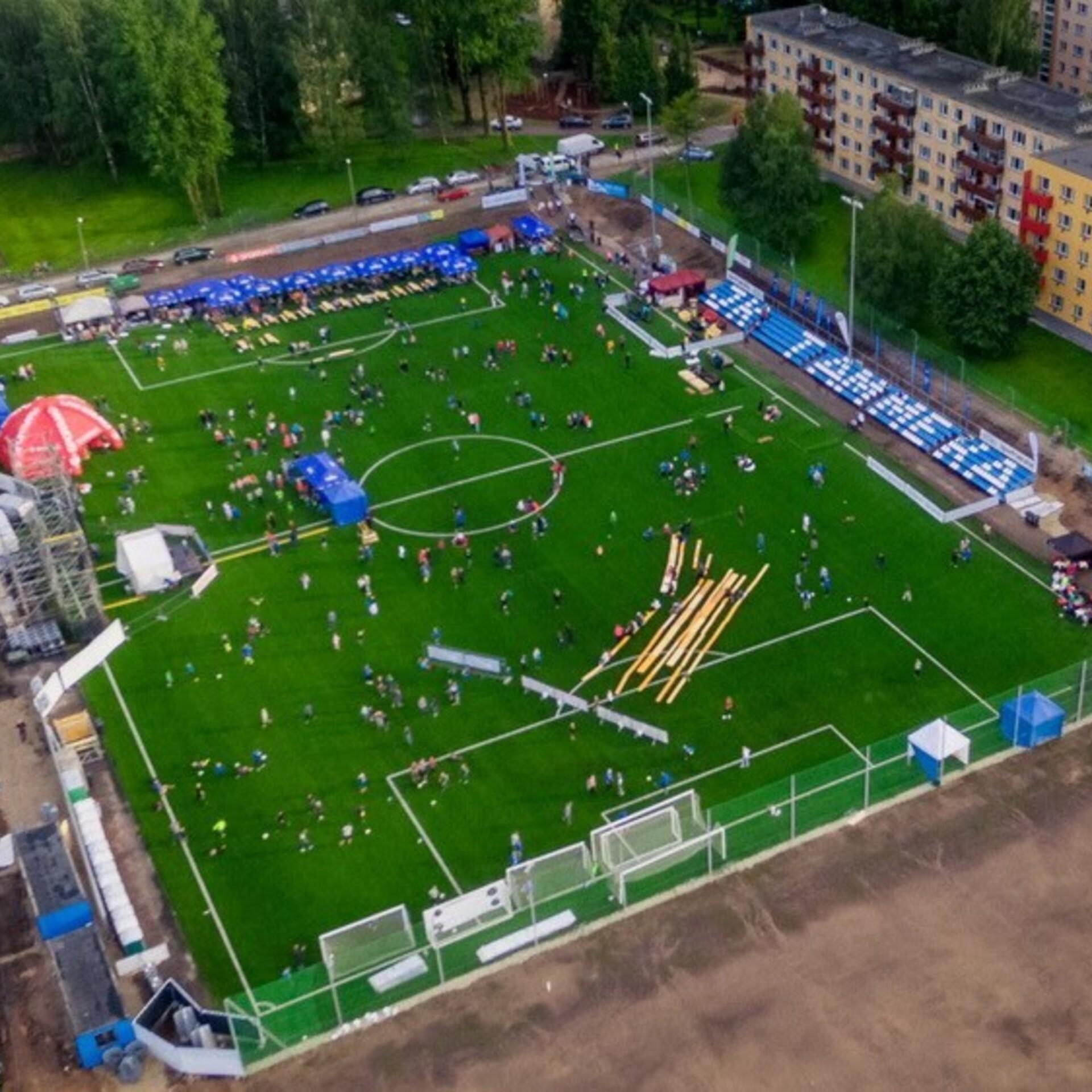 124182070c8 Sepa jalgpallikeskus saab katusega tribüüni | Jalgpall | ERR