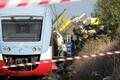 Itaalia rongiõnnetuse sündmuskoht.