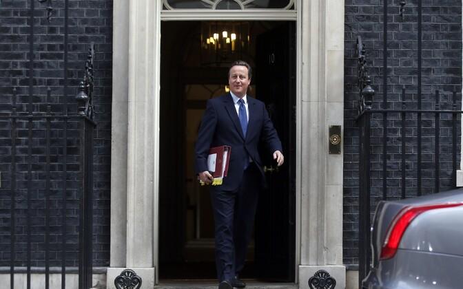Ametist lahkuv peaminister David Cameron.