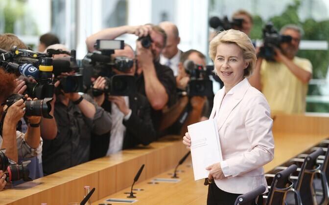Saksamaa kaitseminister Ursula von Der Leyen
