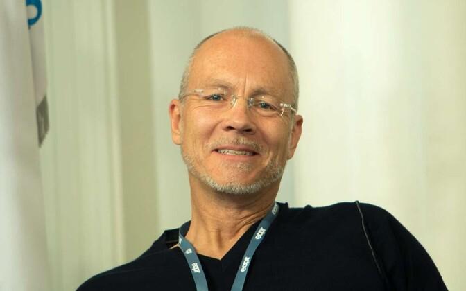 Lüneburgi ülikooli politoloogia professor Christian Welzel Tartu ülikoolis.