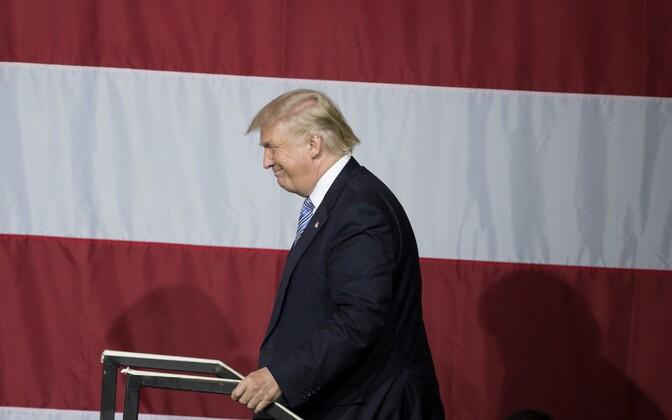 Donald Trump kampaaniaüritusel Indianas.