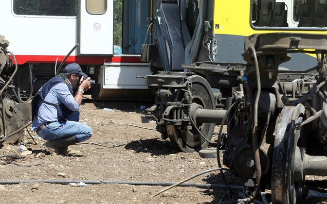 Ekspert Itaalia rongiõnnetuse sündmuskohal.
