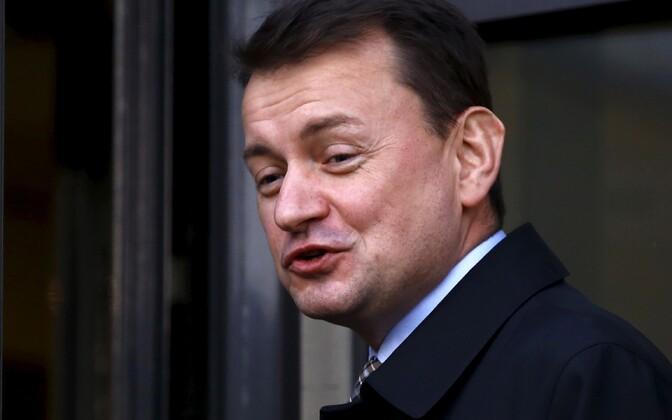 Poola siseminister Mariusz Błaszczak.