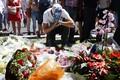 Lilled Nice'i terrorirünnaku paiga lähedal.