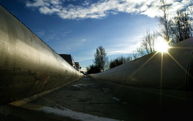 A gas pipeline in Estonia. Photo is illustrative.