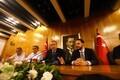 Erdogani pressikonverents pärast Istanbulis saabumist.
