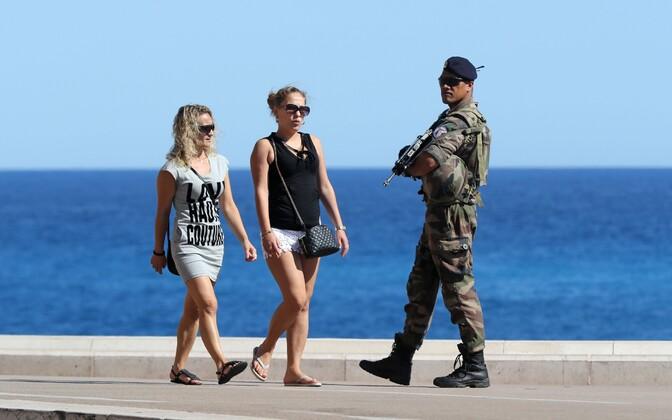 Sõdur Nice'is.