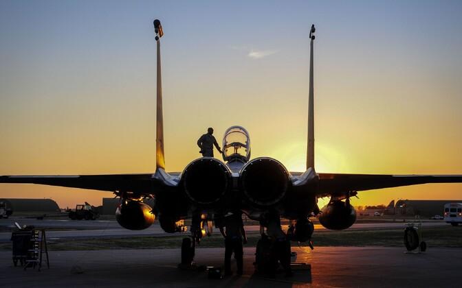 F-15E Strike Eagle Incirliki õhuväebaasis.