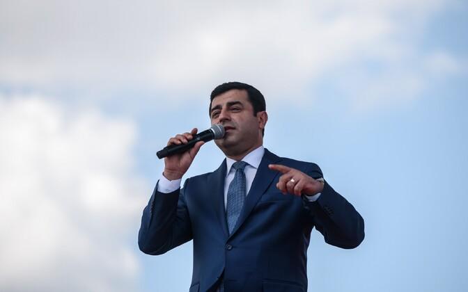 HDP kaasjuht Selahattin Demirtas.