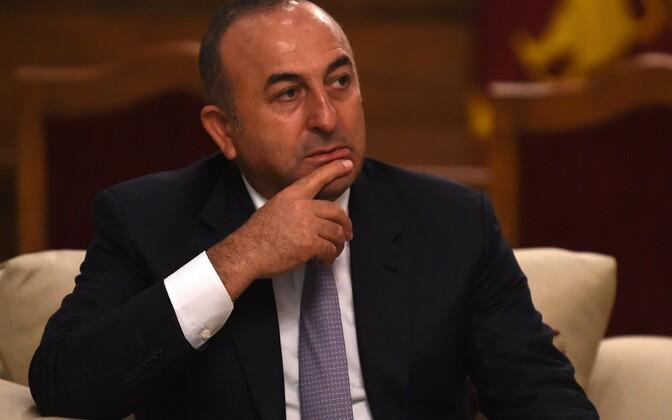Türgi välisminister Mevlut Cavusoglu.