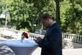 Прием в честь олимпийской сборной Эстонии в президентском дворце в Кадриорге.
