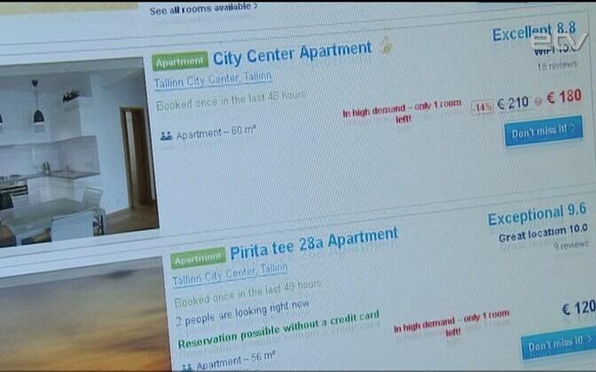 Портал Airbnb быстро завоевал популярность в Эстонии.