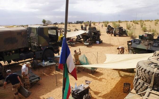 Лагерь французских миротворцев в Мали.