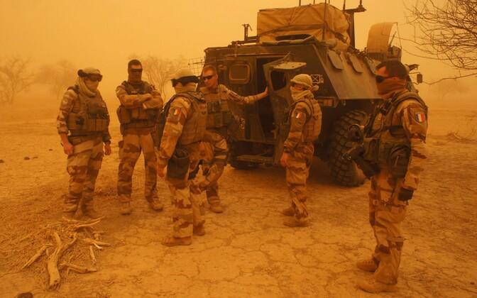 Prantsuse sõdurid Malis.