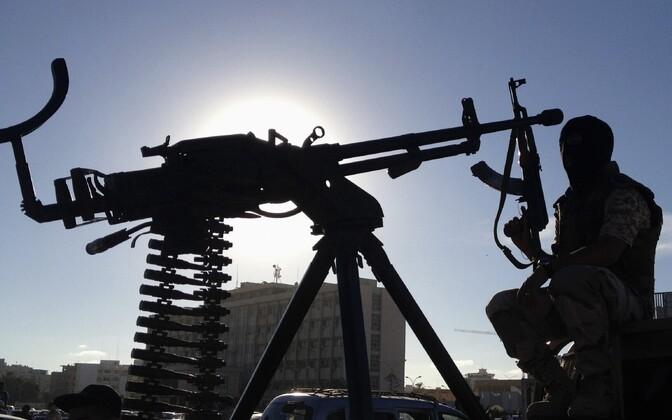 Relvad Liibüas, arhiivifoto.