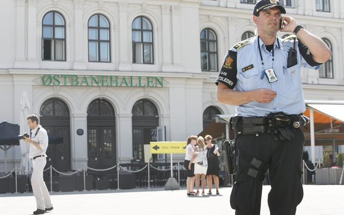Politseinik Oslos.