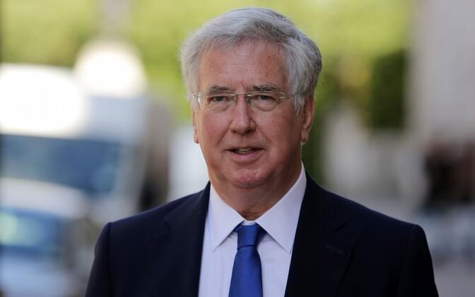 Briti kaitseminister Michael Fallon.