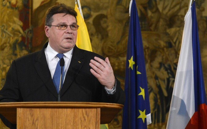 Leedu välisminister Linas Linkevicius.