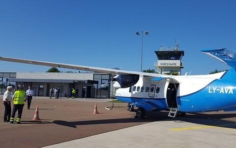 Kuressaare Airport.