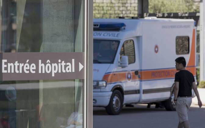A hospital in France. Photo is illustrative.
