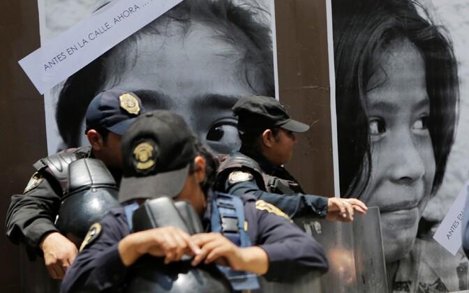 Mehhiko politsei.