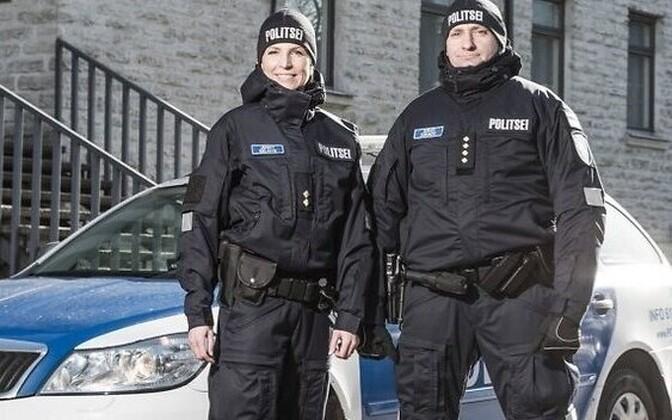 Новая форма сотрудников полиции.