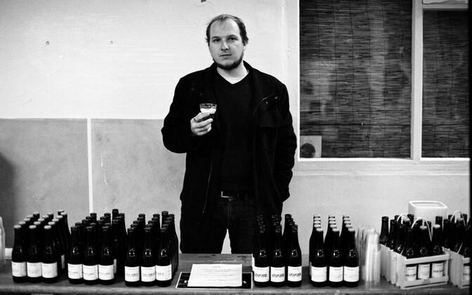 Brewmaster Peeter Kolk two years before the opening of Kolk Brewery in Western Estonia in 2016.