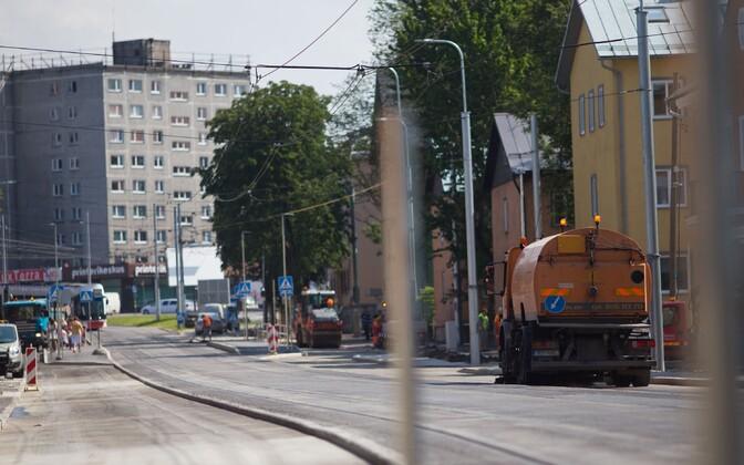 Majaka tänav Tallinnas.