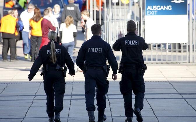 Saksa politseinikud.