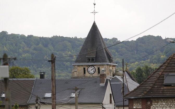 Saint-Étienne-du-Rouvray' kirik.