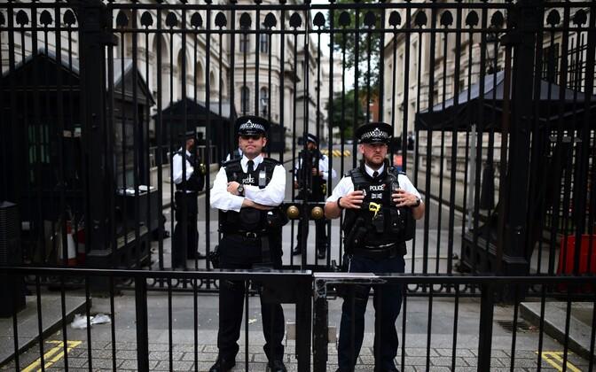Politseinikud Londonis.
