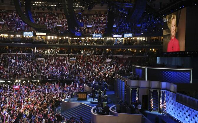 USA demokraatide parteikongressi teine päev Philadelphias.