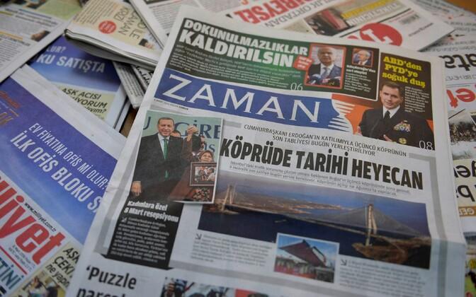 Türgi ajaleht Zaman.