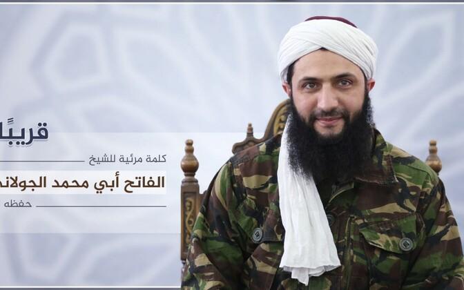 Nusra Rinde häälekandja Al-Manara al-Bayda esimene foto rühmituse juhist Abu Mohammad al-Golanist.
