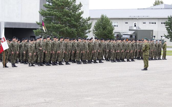 Poola sõdurid Jõhvis.